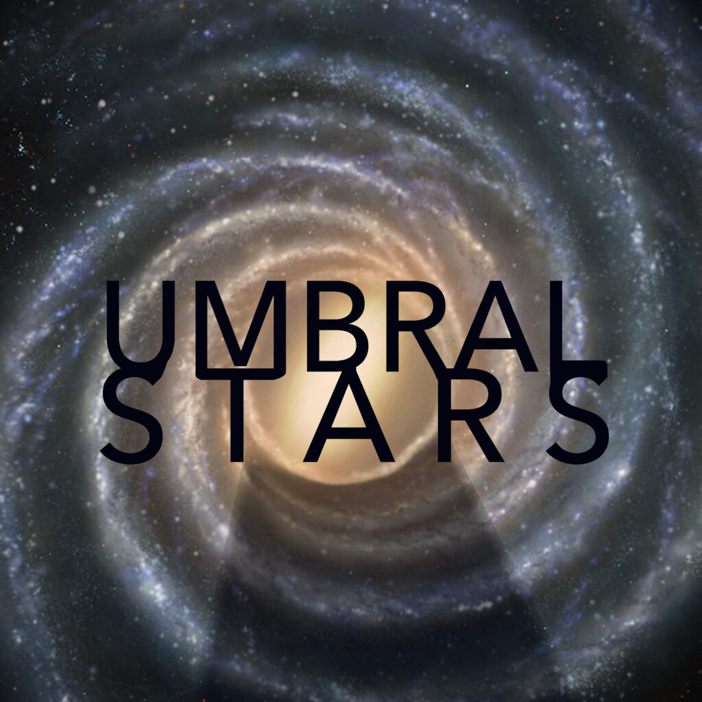 Logo for the Umbral Stars science fiction RPG setting